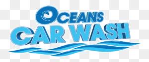 Oceans Car Wash Of Fort Lauderdale Web Site - Car Wash Logo PNG