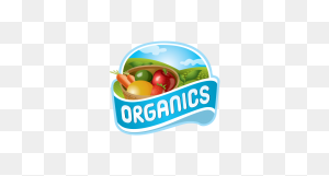 Organic Fruits And Vegetables Sticker Free Vector And Png - Fruits And Vegetables PNG