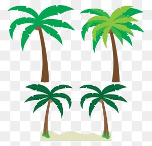 Palm Tree Art Tropical Palm Trees Clip Art Clip Art Palm Tree - Palm Tree Beach Clip Art