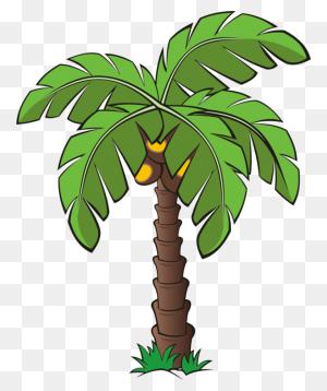 Palm Trees Canary Island Date Palm Plants - Palm Tree Island Clipart