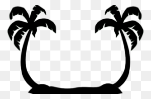 Palm Trees Clip Art Crafts Clip Art, Palm Tree - Palm Leaf Clipart
