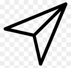 Paper Airplane, Interface, Plane, Airplanes, Symbol, Planes - Paper Plane Clipart