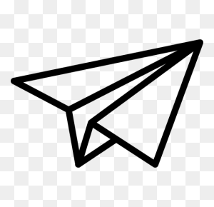 Paper Plane, Paper Plane, Send Icon With Png And Vector Format - Paper Plane PNG