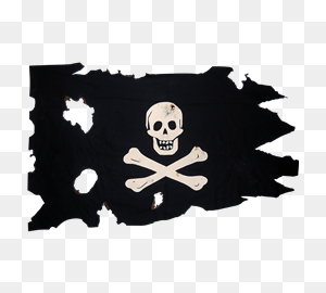 Pirate Flags, Jolly Roger Flags, And Buccaneer Flags From Dark - Pirate Flag PNG