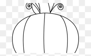 Pumpkin Black And White Clip Art Black And White Pumpkin Clip Art - Pumpkin Black And White Clipart