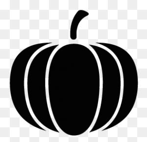 Pumpkin Silhouette Silhouettes Silhouette, Pumpkin - Mittens Clipart Black And White