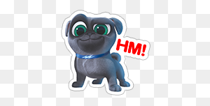 Puppy Dog Pals Sticker Baby Isabel In Dogs - Puppy Dog Pals PNG
