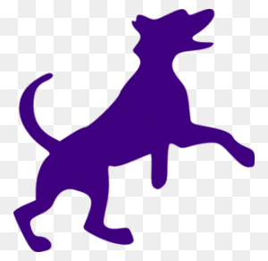 Purple Dog Silouette Projects Dogs, Pet Dogs And Pets - Wiener Dog Clipart
