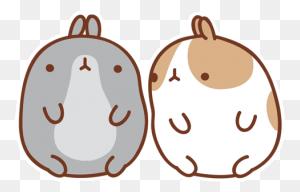 Rabbits Molang Bunny Cute - Molang PNG