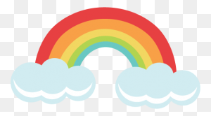 Rainbow For Cutting Machines Rainbow Svgs Free Svgs Free - Rainbow Flower Clipart