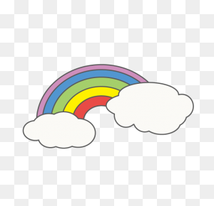 Rainbow Rainbow Free Illustration Distribution Site Clip Art - Rainbow Clipart Free