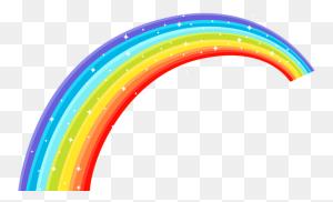 Rainbows Clip Art, Rainbow - Rainbow Line PNG