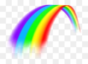 Rainbows Rainbow Png - Rainbow Background PNG