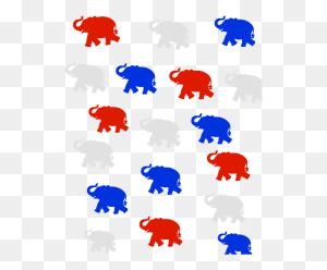 Republican Elephants - Republican Elephant PNG