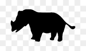 Rhinoceros Hippopotamus Indian Elephant African Elephant Elephants - Rhinoceros Clipart