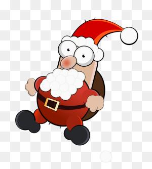 Santa Claus Christmas Day Jack Frost Rudolph Saint Nicholas Day - Santa And Mrs Claus Clipart