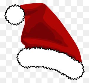 Santa Claus Clip Art Christmas Santa Suit Hat Cap - Santa Claus Hat Clipart