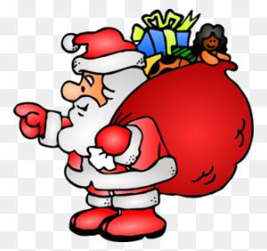 Santa Claus Clip Art Free - Santa And Mrs Claus Clipart