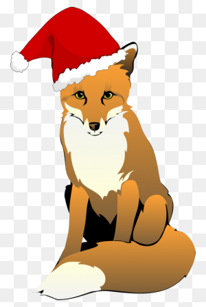 Santa Claus Santa Suit Christmas Day Hat Fox - Santa Claus Clipart