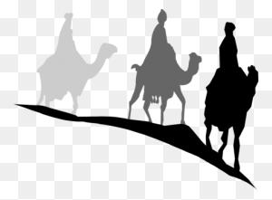 Santa Claus's Reindeer Santa Claus's Reindeer Christmas Day Free - Santa Silhouette Clipart