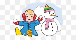 Snow Clipart Girl In Snow Clip Art - Snow Clipart