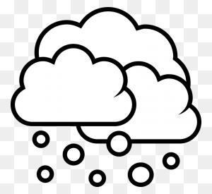 Snow Cloud Png Black And White Transparent Snow Cloud Black - Snow Effect PNG
