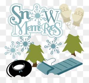 Snow Memories Snow Memories Scrapbook Snow Clipart Cute - Snow Clipart