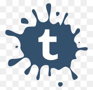 Social Media Icons Blot Icons Set Tumblr Icons, Free - Social Media Icons PNG Transparent
