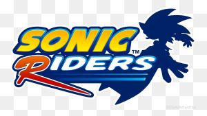Sonic Riders Logo Logos Logos, Sonic The Hedgehog - Sonic Logo PNG