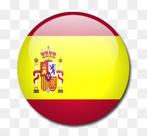 Spain Flag Icon Download Rounded World Flags Icons Iconspedia - World Flags PNG