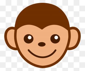 Spider Monkey Clipart Monkey Face - Spider Monkey Clipart