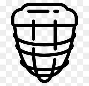 Sportive, Team Sports, Hockey, Hockey Helmet, Sports, Sports - Hockey Helmet Clipart