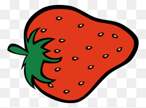 Strawberry Download Fruit Clip Art Free Clipart Of Fruits Apple - Fruits Clipart Images