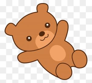 Stuffed Animal Clipart Cute Teddy Bear - Animal Clipart Cute