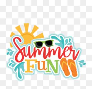 Summer Fun Title Miss Kate's Clip Art Summer - Welcome Summer Clipart