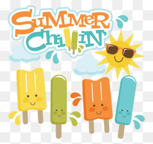 Summer Popsicle Clipart Black And White Popsicle Clip Art Summer - Summer Clipart Black And White