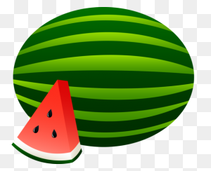 Summer Watermelon Clip Art Clip Art - Watermelon Black And White Clipart