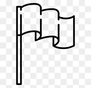 Surrender, Flag Pole, Flag, Flag Symbol, Maps And Flags, Map - Flag Pole PNG