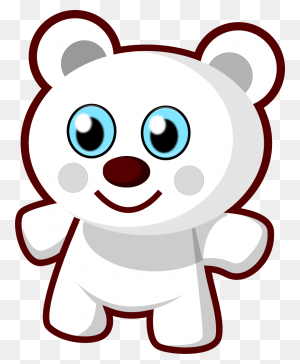Teddy Bear Black And White Bear Black And White Teddy Bear Clipart - Black Bear Clipart