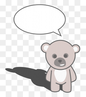 Teddy Bear Black And White Teddy Bear Black And White Free - Teddy Bear Clipart Images