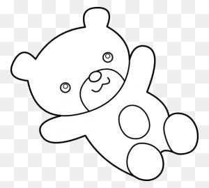 Teddy Bear Black And White Teddy Bear Pic Black And White Teddy - Teddy Bear Clipart Black And White