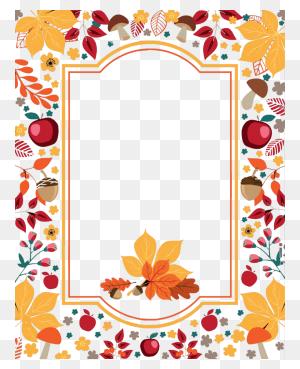 Thanksgiving Borders Free Printablefree Thanksgiving Borders - Thanksgiving Border PNG