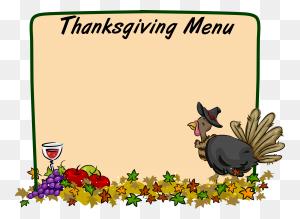 Thanksgiving Thanksgiving Thanksgiving - Thanksgiving Border Clipart