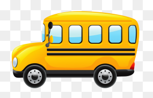Train Planes And Automobile Clipart Clip Art - School Bus Clipart PNG
