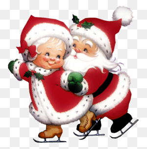 Transparent Cute Mrs Claus And Mr Claus Png Gallery - Santa Claus PNG
