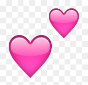 Two Hearts Emojis !!! Emoji, Heart Emoji And Heart - Heart Emoji Clipart