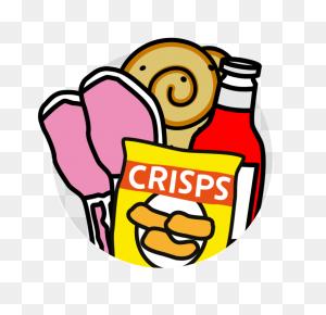 Unhealthy Foods For Kids Png Transparent Unhealthy Foods For Kids - Salt Clipart