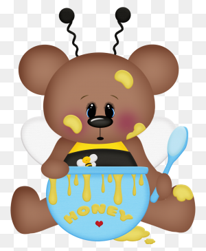 Ursinha Na Animales Clip Art, Bears - Pond Animals Clipart