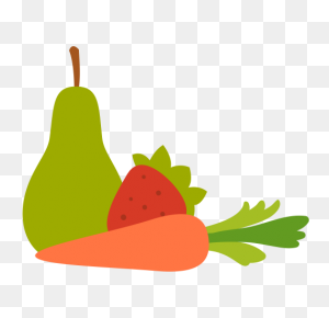 Vegetable Fruit, Fruit, Healthy Icon With Png And Vector Format - Fruits And Vegetables PNG