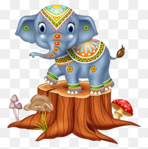 Veselyj Zoopark Elephants Elephant, Animals - Animal Kingdom Clipart